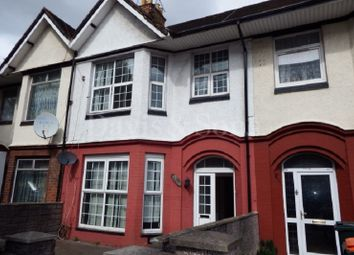 Thumbnail 3 bed terraced house for sale in Corporation Road, Newport, Gwent.