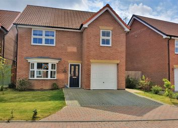 Thumbnail 4 bed detached house for sale in Wainwell Close, Immingham