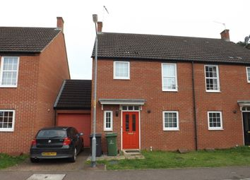 Thumbnail 3 bed semi-detached house to rent in Birch Covert, Thetford