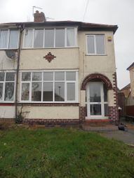 Thumbnail 3 bed semi-detached house to rent in Lynton Avenue, Claregate, Wolverhampton