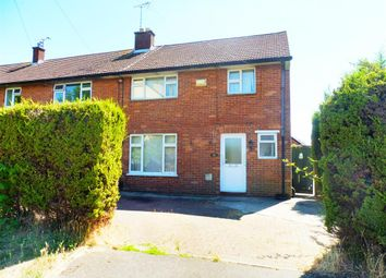 Thumbnail 3 bedroom end terrace house for sale in Burghley Close, Swindon