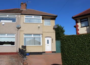 Thumbnail 3 bed semi-detached house for sale in Greystone Crescent, Huyton, Liverpool