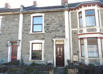 Thumbnail 2 bed terraced house to rent in Hillside Road, St. George, Bristol
