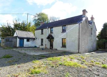 Thumbnail 4 bed detached house for sale in Crows Nest, Fishguard Road, Haverfordwest, Pembrokeshire