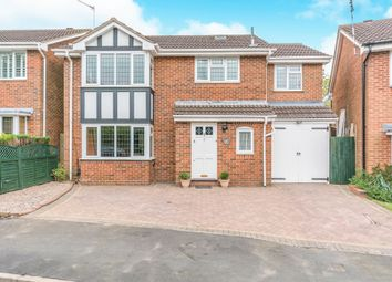 Thumbnail 4 bed detached house for sale in Tanwood Close, Shirley, Solihull