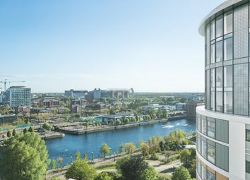 Thumbnail 2 bed flat for sale in Fortis Quay, Salford Quays