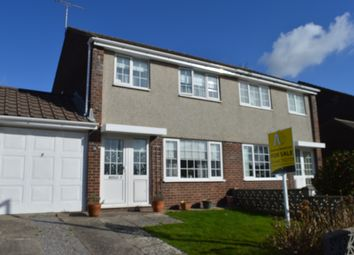 Thumbnail 3 bed semi-detached house for sale in Eurgan Close, Llantwit Major