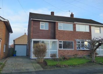 Thumbnail 3 bedroom semi-detached house for sale in Horsewell Lane, Wigston, Leicester, Leicestershire