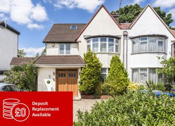 Thumbnail 5 bed semi-detached house to rent in Basing Hill NW11, Finchley, London,