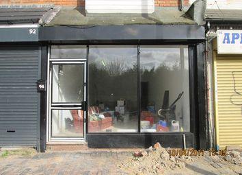 Thumbnail Retail premises to let in Stoney Lane, Balsall Heath, Birmingham