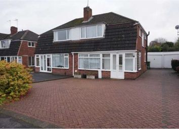 Thumbnail 3 bed semi-detached house for sale in Bronte Farm Road, Solihull