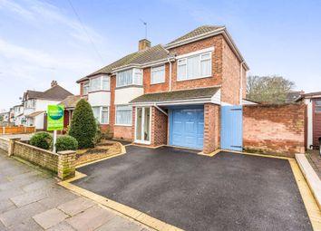 Thumbnail 4 bed semi-detached house for sale in Bilton Grange Road, Yardley, Birmingham