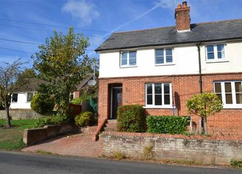 Thumbnail 2 bed semi-detached house for sale in Compton Road, East Ilsley, Berkshire