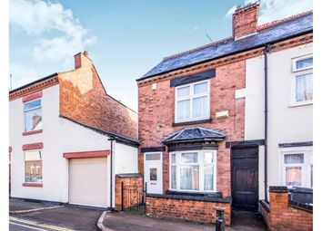 Thumbnail 2 bed end terrace house for sale in Duxbury Road, Leicester, Leicestershire
