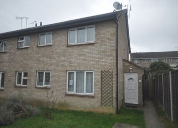 Thumbnail 1 bed semi-detached house to rent in Burgate Close, Crayford, Dartford