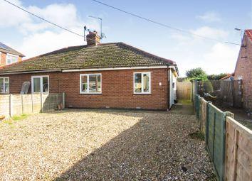 Thumbnail 2 bedroom semi-detached bungalow for sale in Lynn Road, Dersingham, King's Lynn