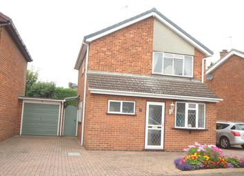 Thumbnail 3 bed detached house for sale in Bedale Avenue, Hinckley