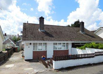 Thumbnail 3 bed semi-detached bungalow for sale in Cherry Tree Close, Bedwas, Caerphilly