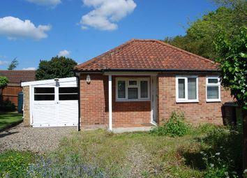 Thumbnail 1 bedroom detached bungalow for sale in Shipdham Road, Toftwood, Dereham
