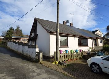 Thumbnail 2 bedroom semi-detached bungalow for sale in Crediton Road, Okehampton