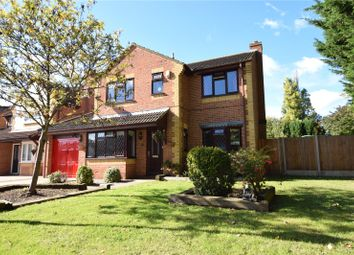 Thumbnail 4 bed detached house for sale in Jackson Close, Greenhithe, Kent
