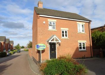 Thumbnail 3 bed detached house for sale in Bird Close, Earl Shilton, Leicester