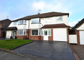 Thumbnail 4 bed semi-detached house for sale in Windmill Avenue, Rubery, Birmingham