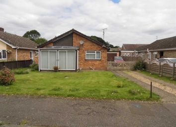 Thumbnail 3 bedroom detached bungalow for sale in Church Road, Clenchwarton, King's Lynn