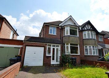 Thumbnail 3 bed semi-detached house to rent in Bibsworth Avenue, Billesley, Birmingham