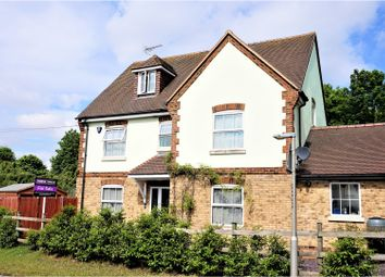 Thumbnail 5 bedroom detached house for sale in Rochester Road, Aylesford