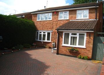 Thumbnail 4 bed detached house for sale in Gaza Close, Tile Hill, Coventry