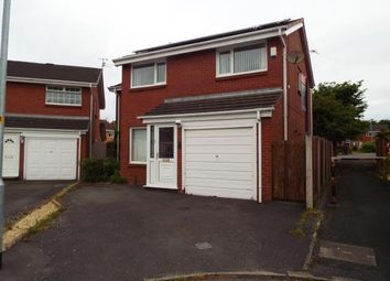 Thumbnail 4 bed detached house for sale in Hereford Close, Woolston, Warrington, Cheshire