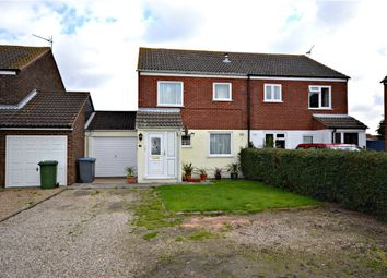 Thumbnail 3 bed semi-detached house for sale in Farriers Went, Trimley St. Mary, Felixstowe