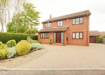Thumbnail 4 bed detached house for sale in Menville Close, School Aycliffe, Newton Aycliffe