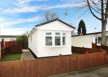Thumbnail 1 bed mobile/park home for sale in Carlight Gardens, Adbolton Lane, West Bridgford