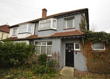 Thumbnail 3 bedroom semi-detached house for sale in Poulton Avenue, Sutton