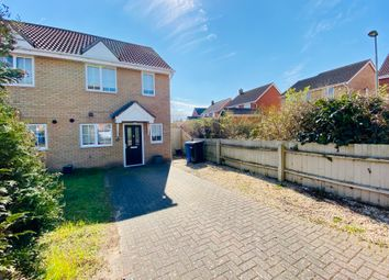 Thumbnail 2 bed end terrace house for sale in Speedwell Way, Norwich