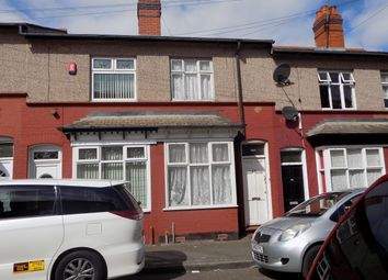 Thumbnail 2 bedroom terraced house for sale in Lea Road, Sparkhill, Birmingham