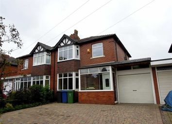 Thumbnail 3 bed semi-detached house to rent in Stand Lane, Radcliffe, Radcliffe Manchester