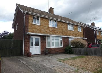Thumbnail 3 bed semi-detached house for sale in Berkeley Road, Netherton, Peterborough, Cambridgeshire