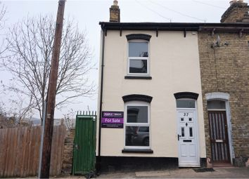 Thumbnail 3 bedroom end terrace house for sale in Melbourne Road, Chatham