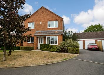 Thumbnail 4 bed detached house for sale in Foxfield Place, Long Lawford, Rugby