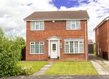 Thumbnail 4 bed detached house for sale in Orrin Close, York