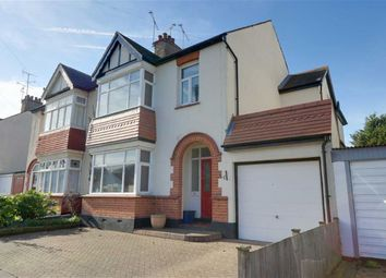 Thumbnail 4 bed semi-detached house for sale in Olivia Drive, Leigh On Sea, Essex
