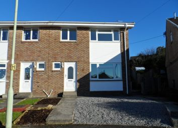 Thumbnail 3 bed semi-detached house to rent in Caeau Duon, Pencoed