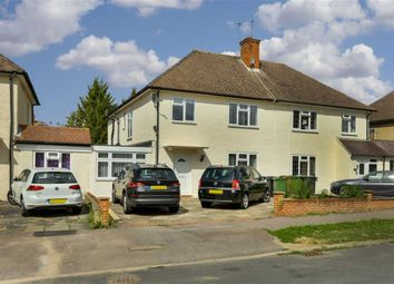 Thumbnail 4 bed semi-detached house for sale in The Greenway, Epsom, Surrey