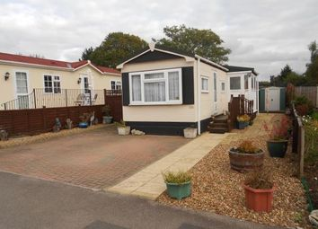 Thumbnail 2 bedroom mobile/park home for sale in Folly Park, High Street, Clapham, Bedford