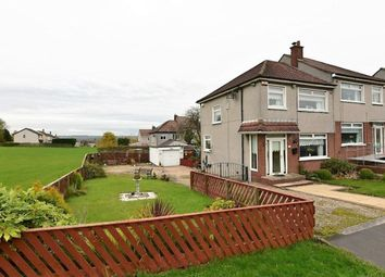 Thumbnail 3 bedroom semi-detached house for sale in Angus Gardens, Uddingston, Glasgow