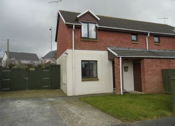 Thumbnail 2 bed semi-detached house to rent in 11 Bro Stinian, Fishguard, Pembrokeshire