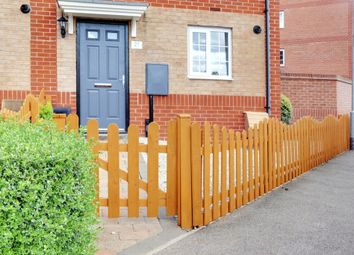 Thumbnail 3 bed end terrace house for sale in Turners Gardens, Wootton, Northampton